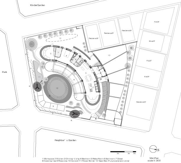 521e4e32e8e44ed7fc00003b_green-screen-house-hideo-kumaki-architect-office_plan-and-site-greyscale-rangle-jpeg